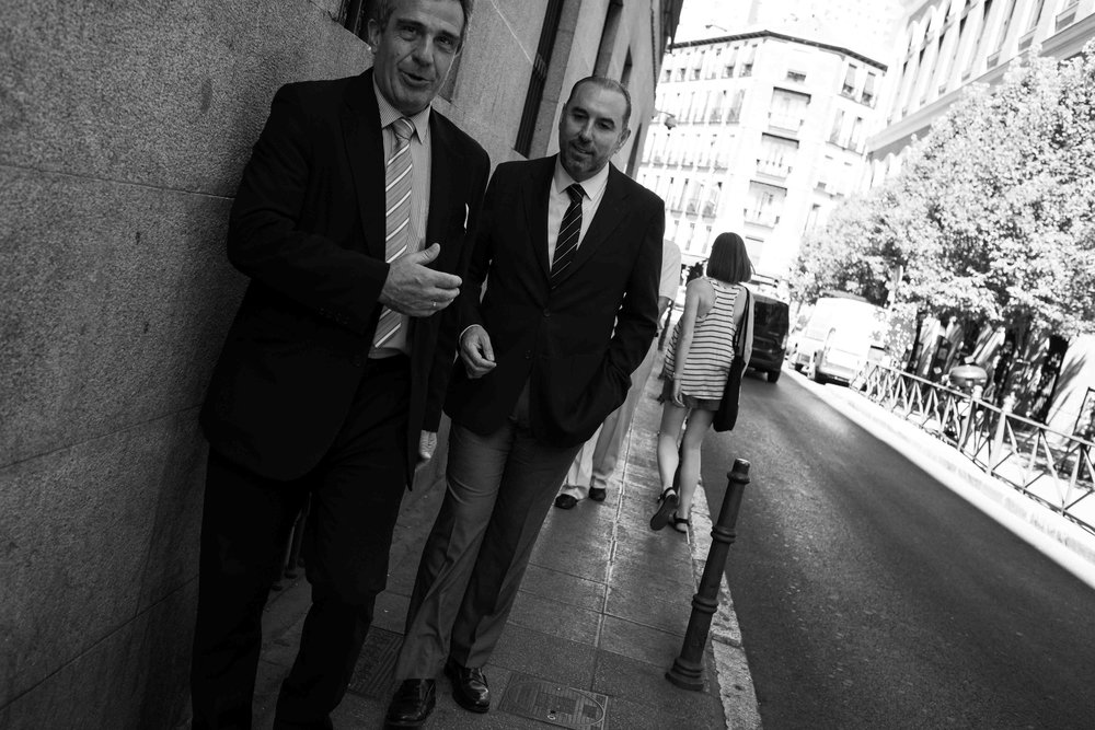 Businessmen in Centro.