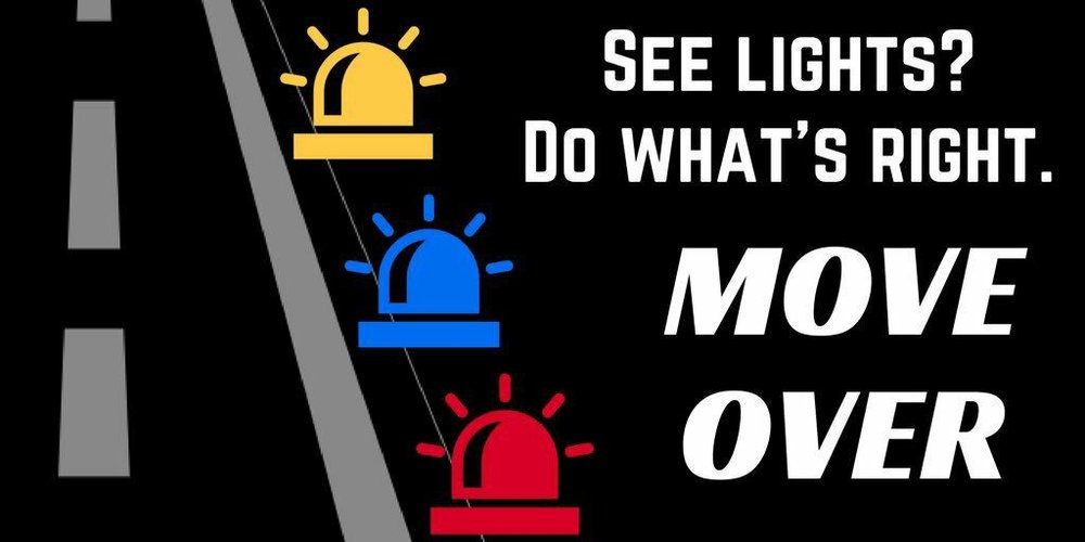 Join us along with first responder agencies nationwide for move over awareness day. In New York State it is the law to slow down and move over a lane to give those working on the side of the road a safe zone.