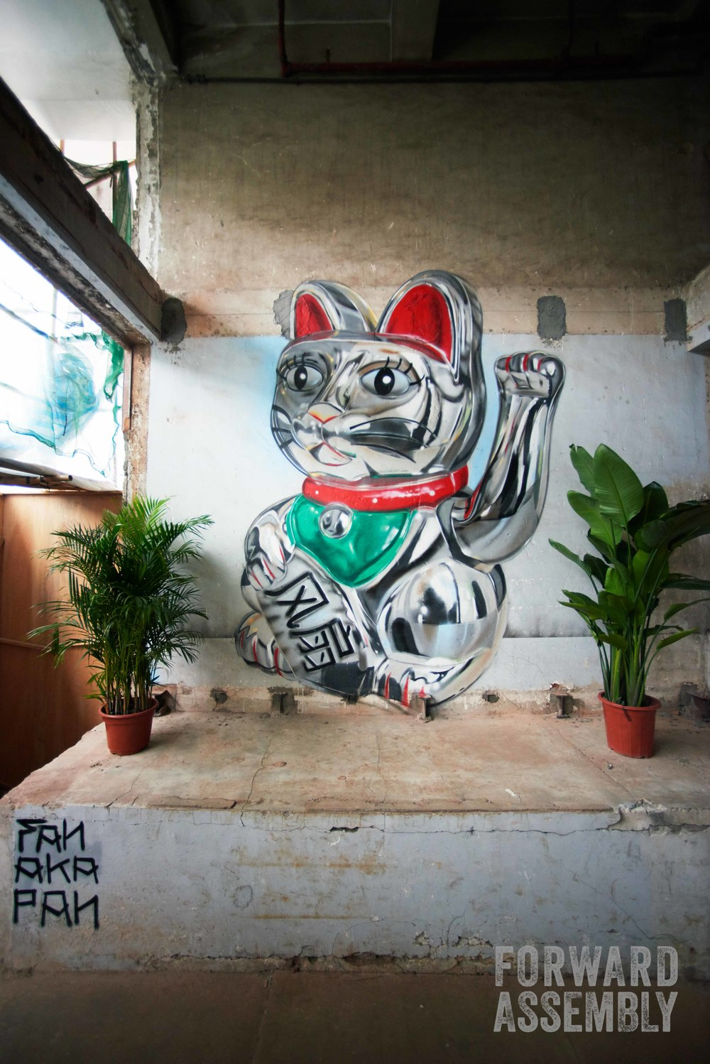 Lucky Graff Cat