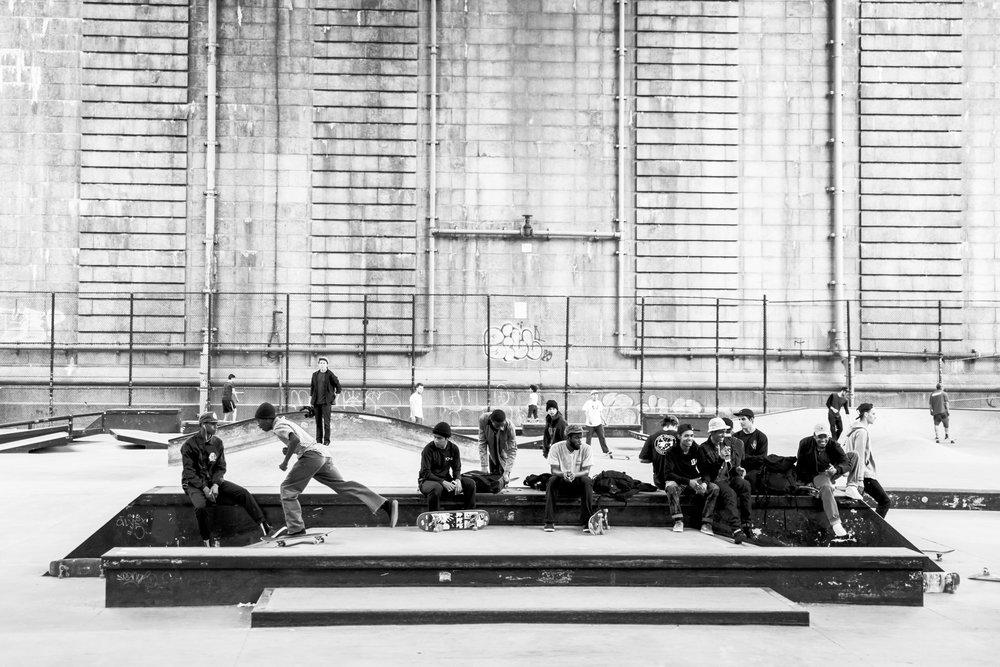 LES skatepark Manhattan