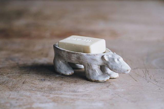 Another great eco-conscious  soap dish from @whiteheadcaroline.  Photo @arturrummel