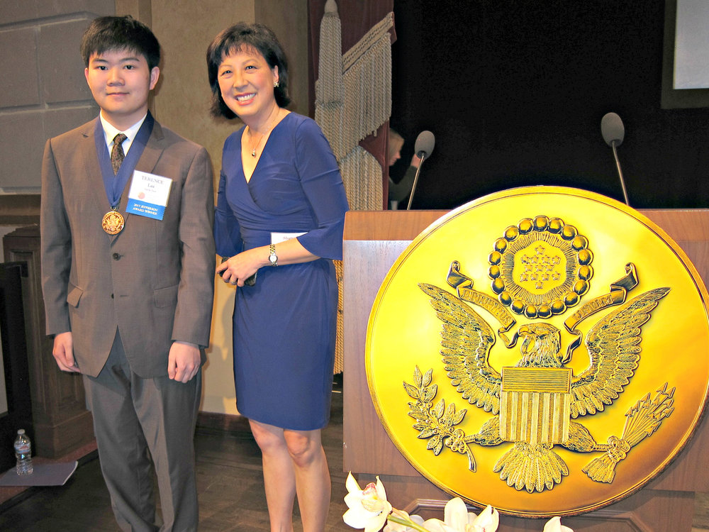 Terence Lee (left) and Sharon Chin, CBS KPIX