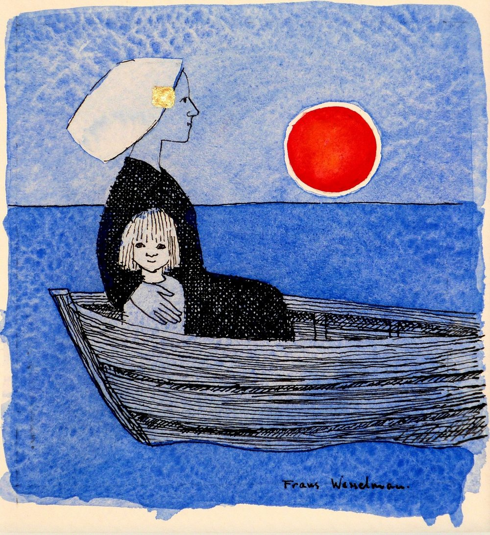 Voyage, water colour, 12.5x11.5 cm..JPG