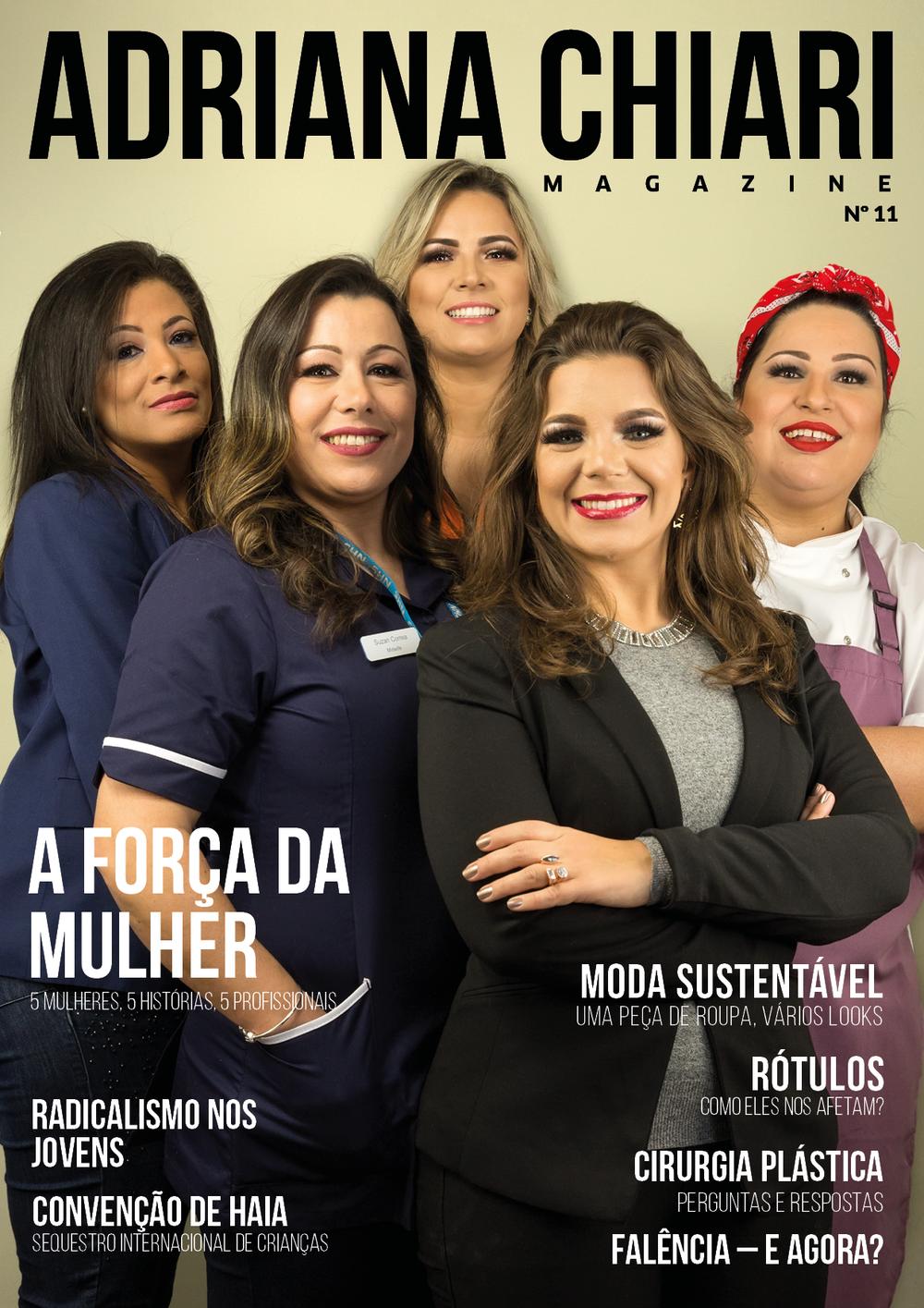 11ª Edição Adriana Chiari Magazine - Marco - 2018