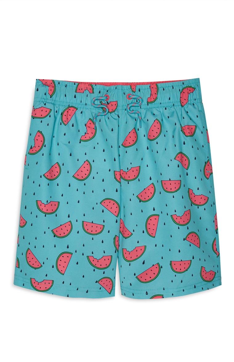 PRIMARK - Older Boy Watermelon Swim Short