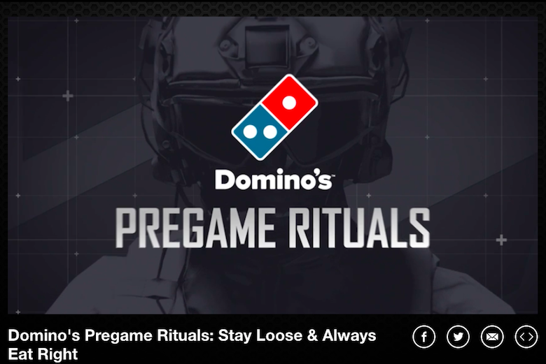 TNL eSports Brand Tracker 029: Domino's (Photo: Turner)