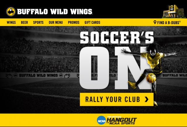 Buffalo Wild Wing's Euro 2016 Promotion (Photo: Buffalo Wild Wings)