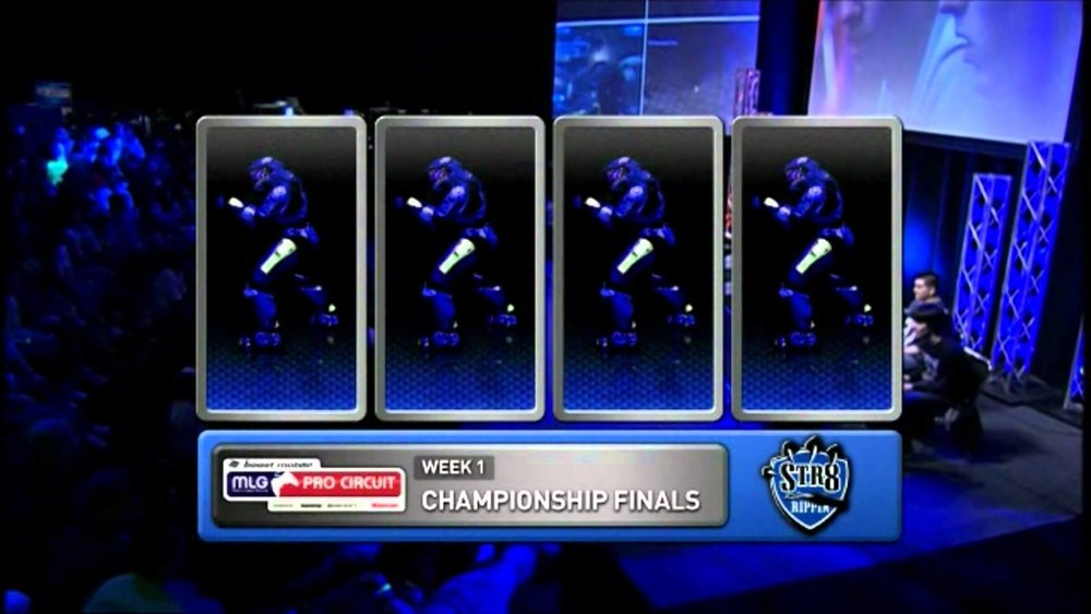 MLG's Pro Circuit on USA Network In 2006 (Photo: YouTube)