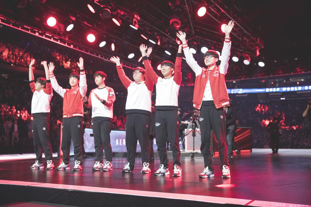 South Korean Team SK Telecom 1. Yes, not a NA Team.(Photo: Riot)