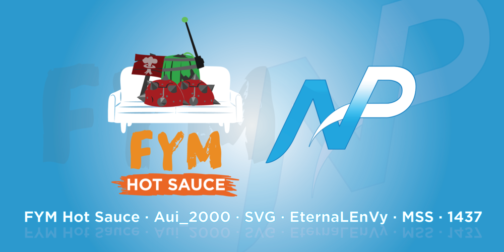FYM Hot Sauce and Team NP (Photo: FYM Hot Sauce)