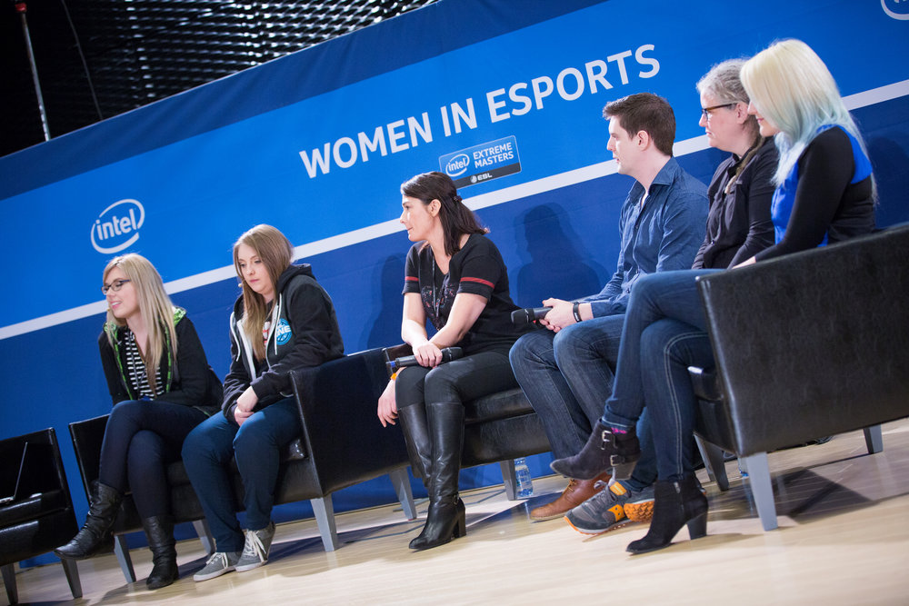 Women In eSports Panel At IEM (Photo: ESL)