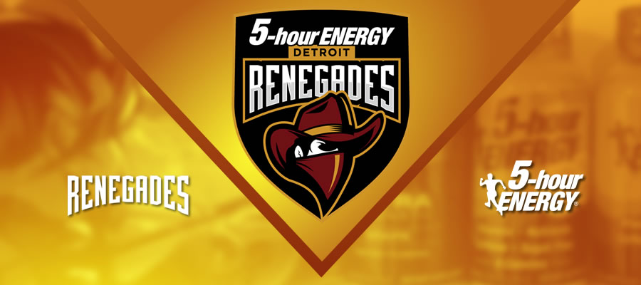 Renegades Team Becomes 5-Hour Energy Overwatch Team (Photo: Detroit Renegades)