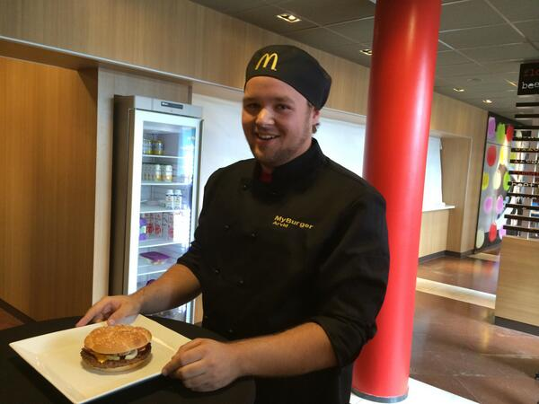 McHeaton Burger (Photo: McDonald's Sweden)