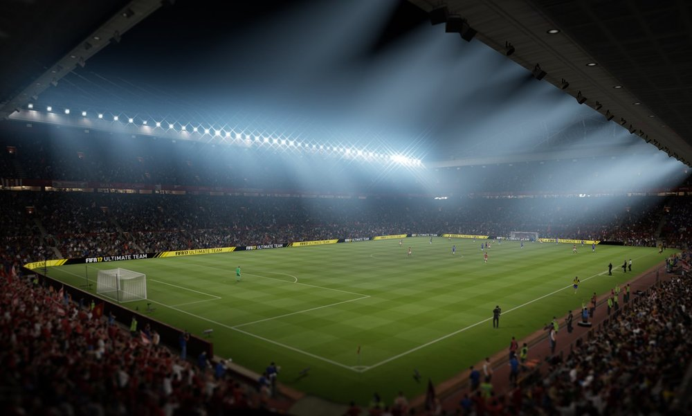 Old Trafford In FIFA 17 (Photo: EA Sports)
