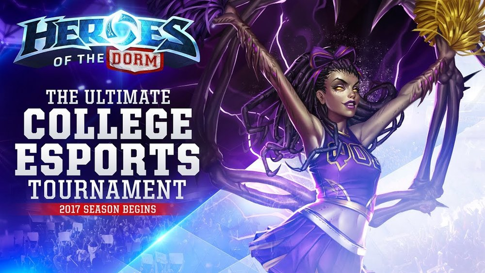 Facebook and Blizzard 'Heroes of the Dorm' Partnership (Photo: Blizzard)