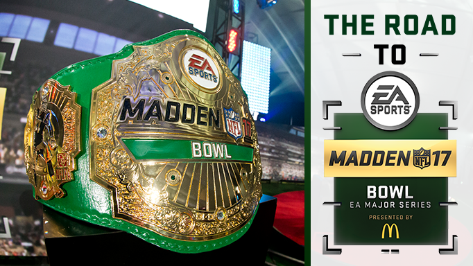 Madden Bowl 17 Championship Belt (Photo: EA Sports)