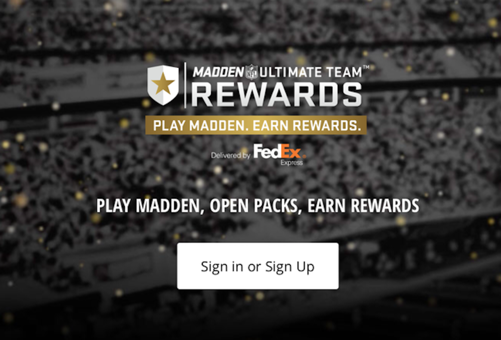 FedEx and Madden Ultimate Team (Photo: EA Sports)
