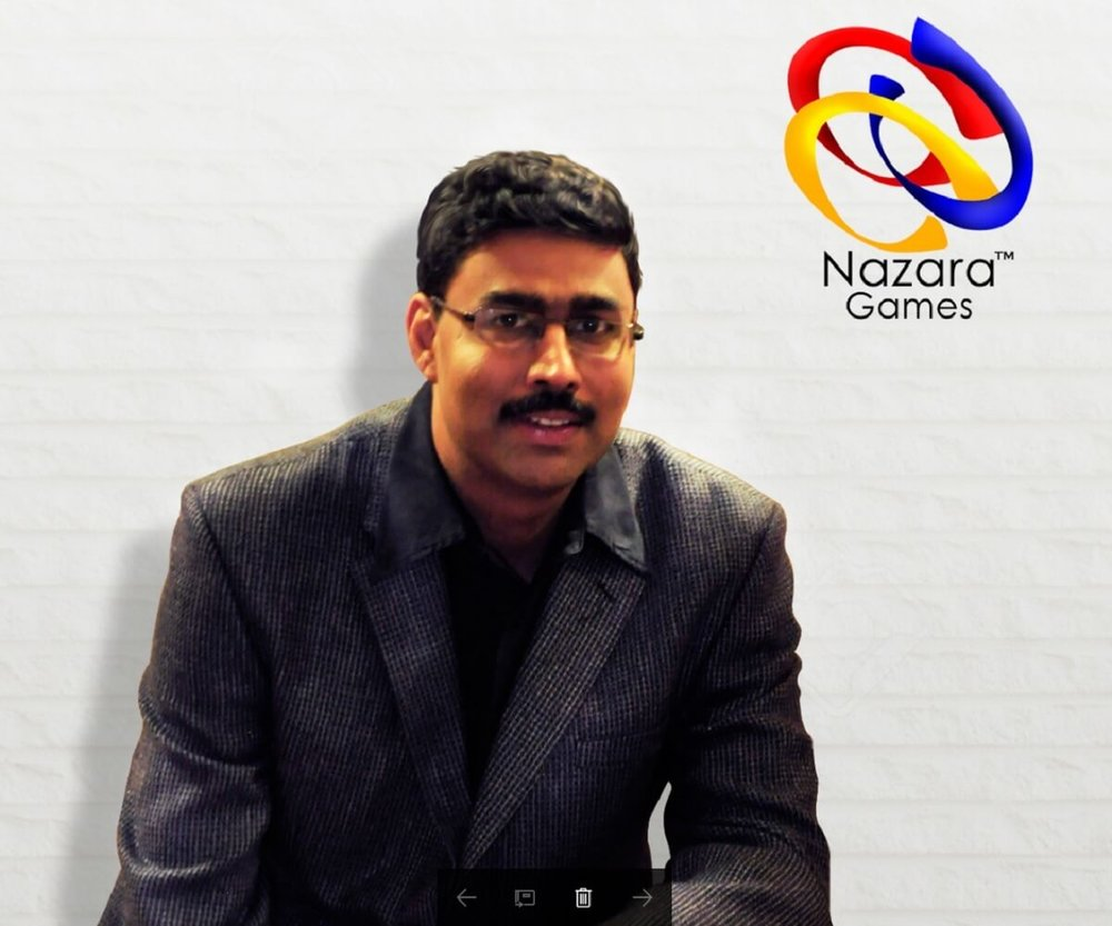 Manish Agarwal, CEO of Nazara Games (Photo: Nazara Games)