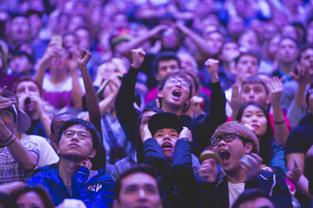 The young eSports Audience (Photo: Riot Games)