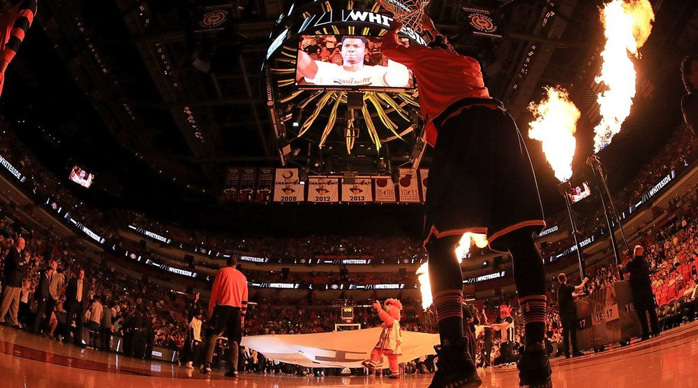 The Miami Heat At Home (Photo: Sports Illustrated)