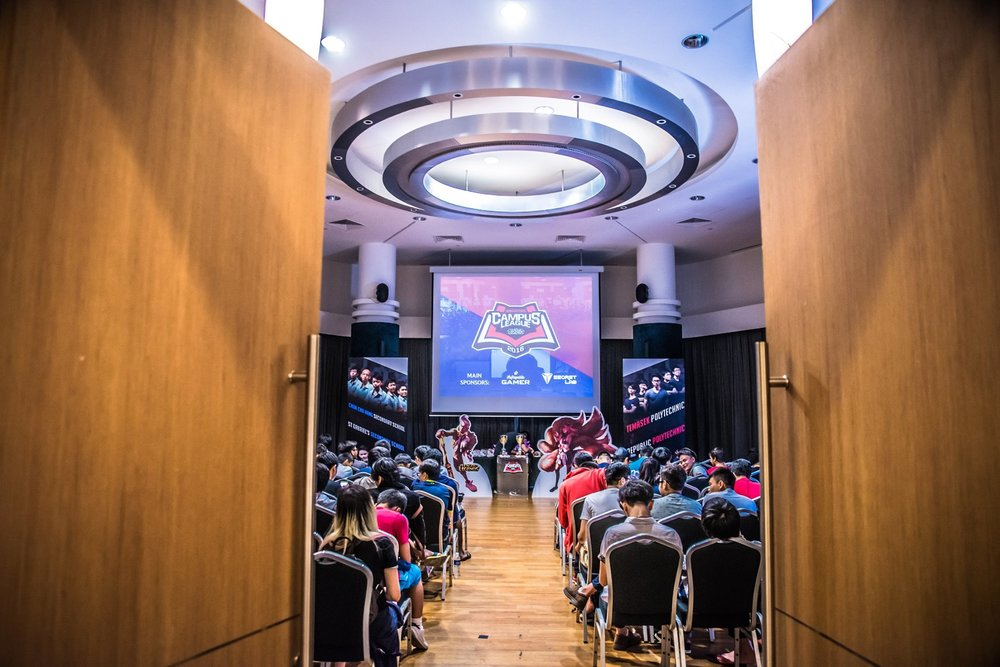 Campus League Event (Photo: Garena Malaysia/Singapore Facebook )