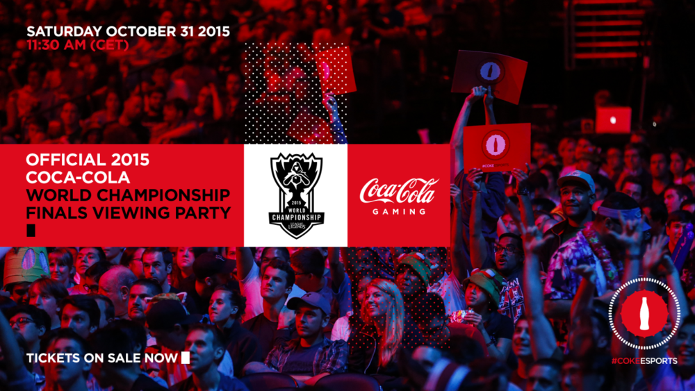 Coca-Cola's 2nd League of Legends Viewing Party (Photo: Coke eSports)