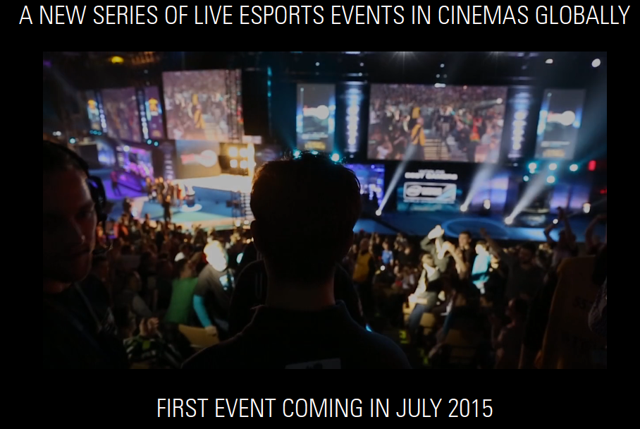 BY Experience and ESL Bring eSports To Theaters In 30 Countries (Photo: BY/ESL)