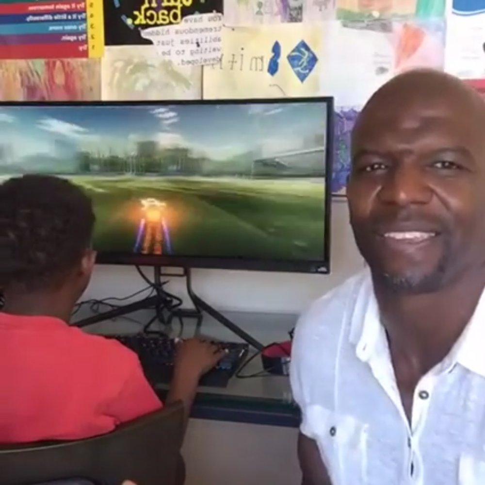 14.5M views on his Facebook livestream (Terry Crews' Facebook page, https://www.facebook.com/realterrycrews/videos/1186457948041229/)