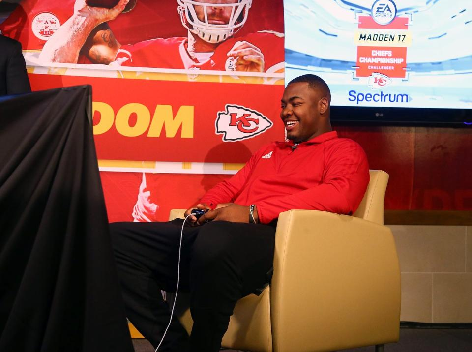 Spectrum Placement In Player Camera (Photo: Kansas City Chiefs)