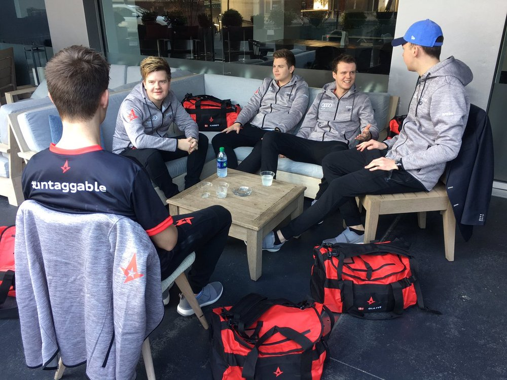 Audi and Astralis Sponsorship (Photo: Astralis)