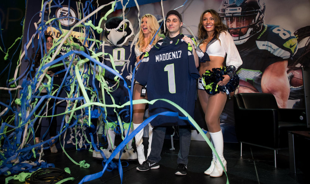 EA Madden NFL Pro Team Club Series: Seattle Seahawks (Photo: EA)