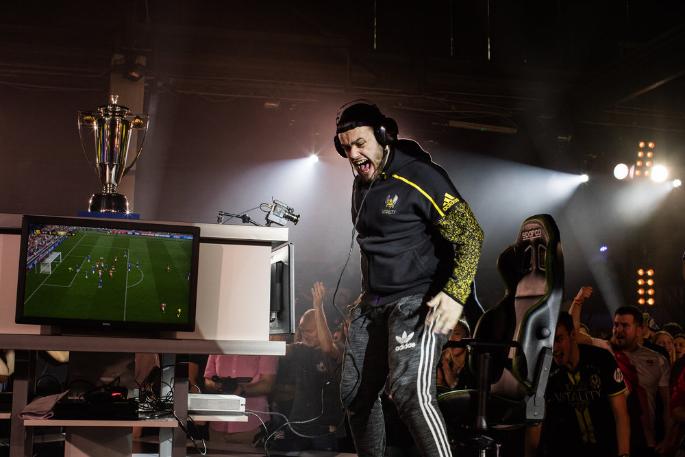 Vitality Rockyy Wins the 2017 FIFA Ultimate Team Championship in Berlin (Photo: EA Sports)