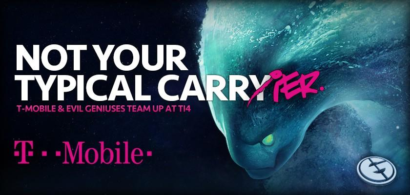 T-Mobile and Evil Geniuses (Photo: Evil Geniuses)
