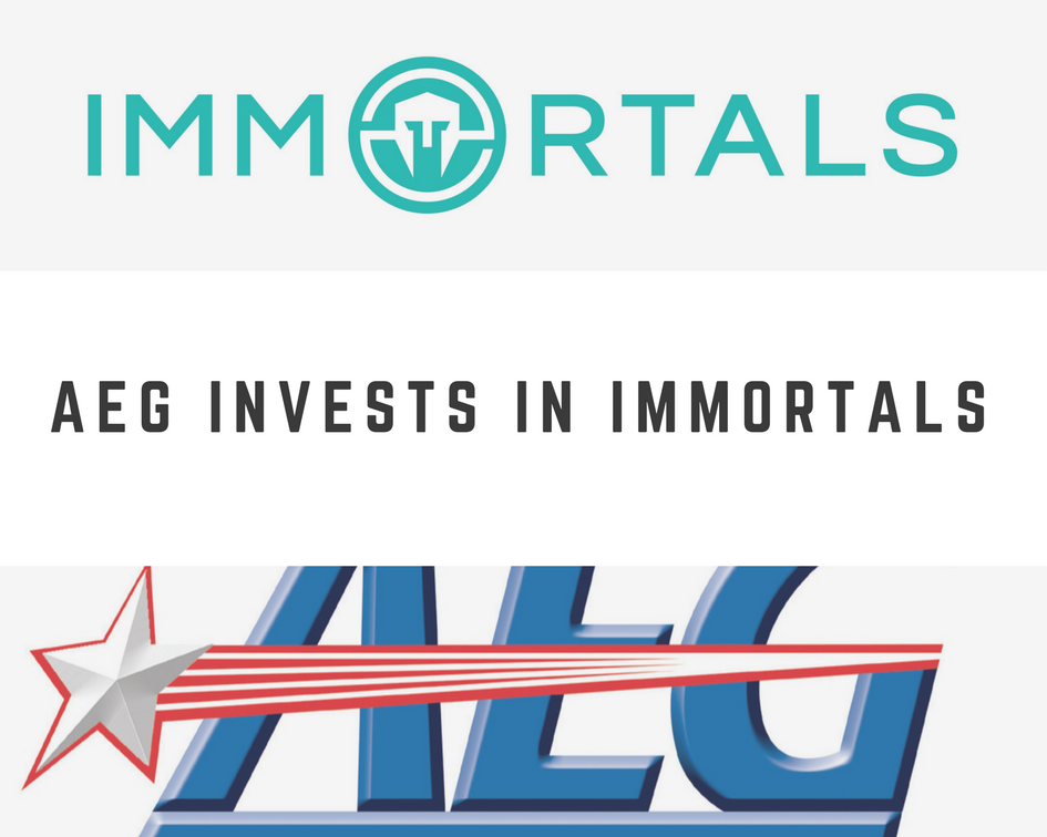 AEG Invests In eSports Team Immortals (Graphic: The Next Level)