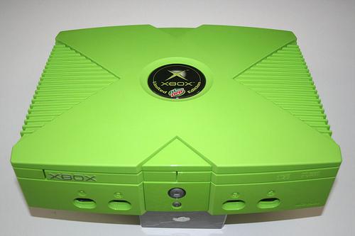 Mt. Dew Branded Xbox (Photo: Wikipedia)