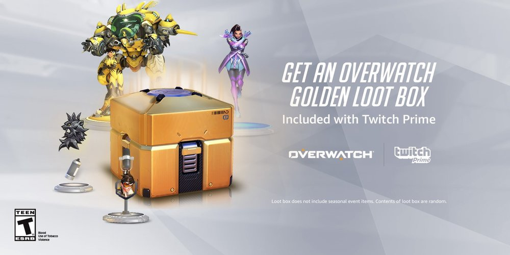 Overwatch Loot Box Via Twitch Prime (Photo: Twitch)