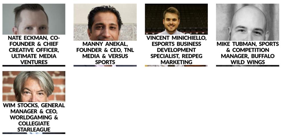 XLIVE eSports Conference Panel (Photo: XLIVE)