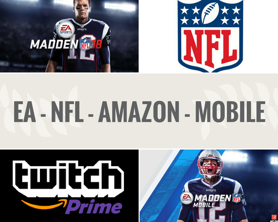 EA Madden, NFL, Amazon, Mobile and eSports (Graphic: The Next Level)