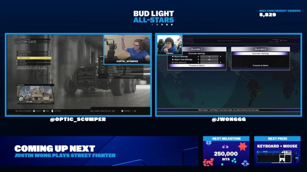 Bud Light All-Stars Winners Twitch Stream (Photo: Bud Light/Twitch)