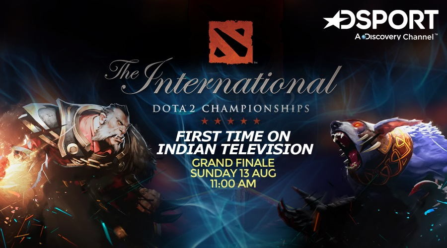 DOTA2's The International 2017 Finals on Indian Television (Photo: DSport)