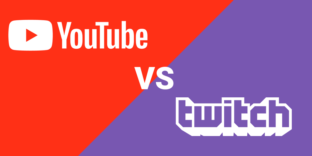 YouTube vs. Twitch (Graphic: Jordan Fragen)