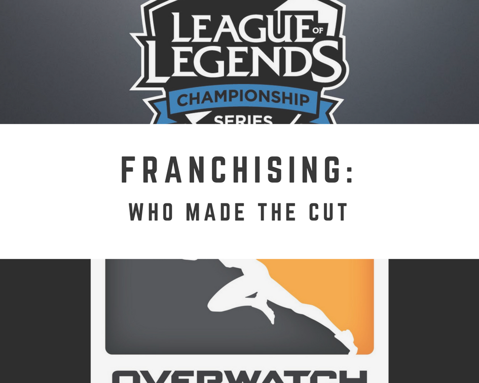 eSports Franchising: Who Made The Cut - Part 1 (Graphic: The Next Level)
