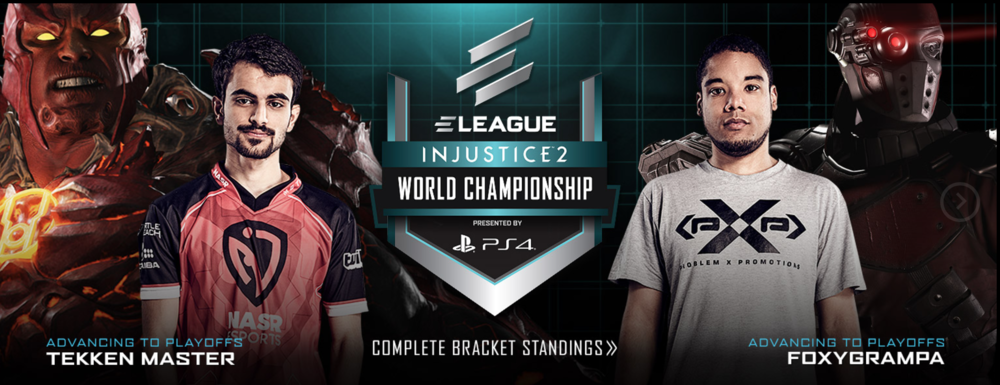 Injustice 2 on ELEAGUE (Photo: Turner)