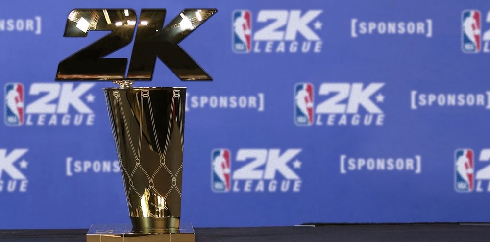 Naming Rights to the NBA 2K League's Trophy (Photo: Morris Strategic)
