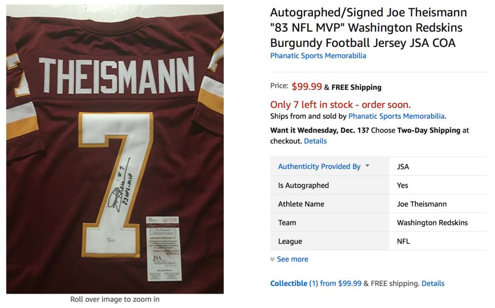 NFL Merchandise On Amazon (Photo: Amazon)