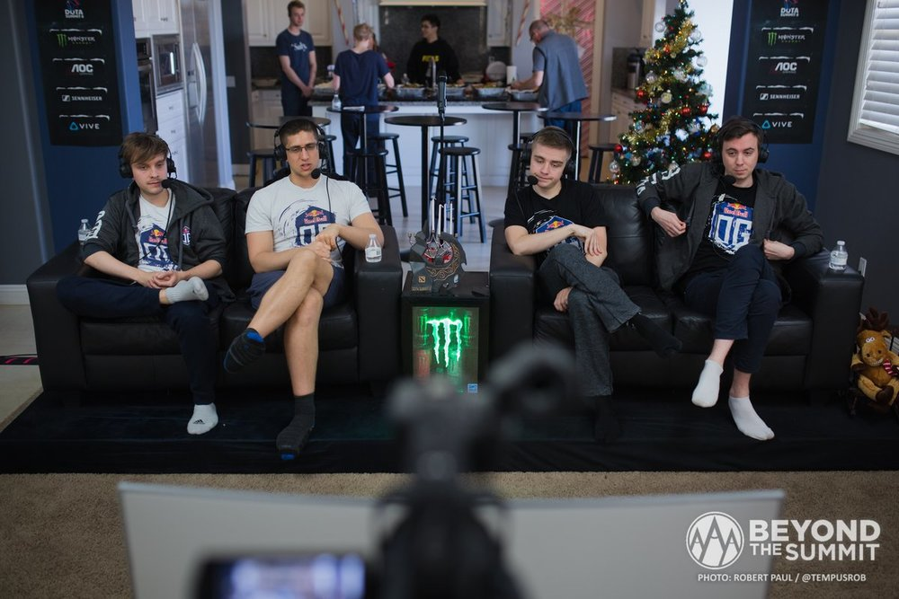Behind the scenes at the 8th Dota 2 Summit (Photo: Beyond the Summit)