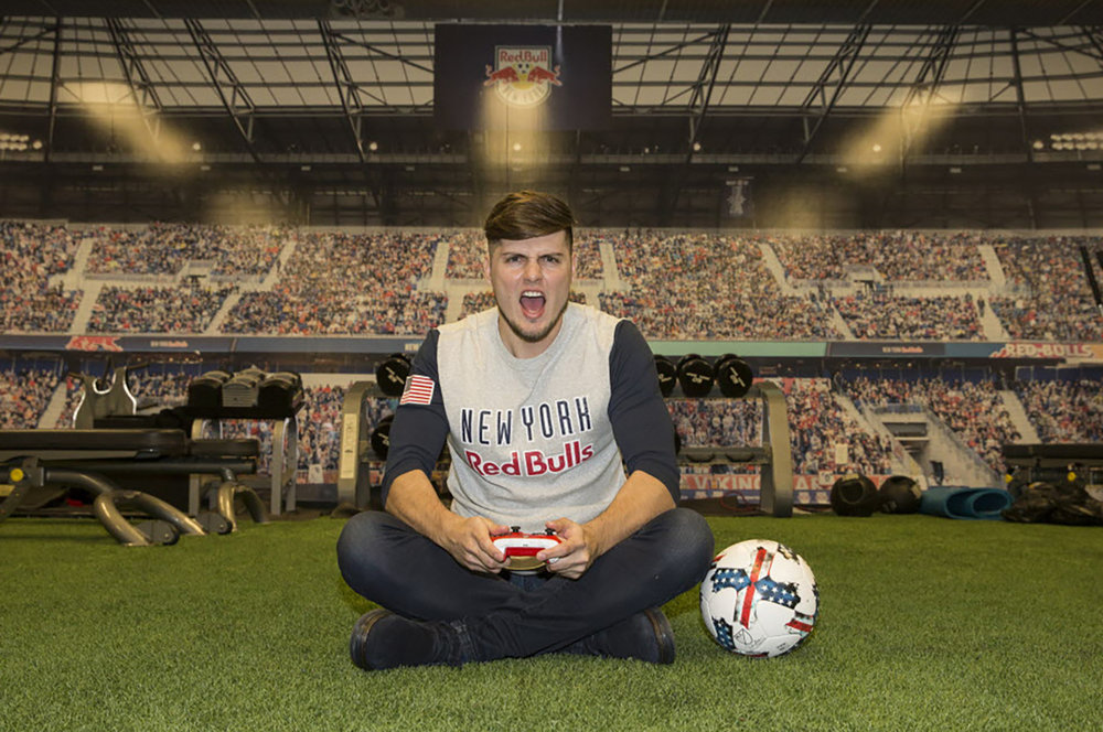 NY Red Bulls FIFA Pro Mike Labelle (Photo: NY Post)