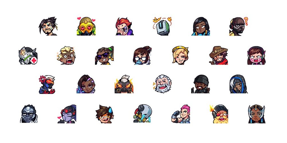 Overwatch Hero Emotes (Photo: Twitch)