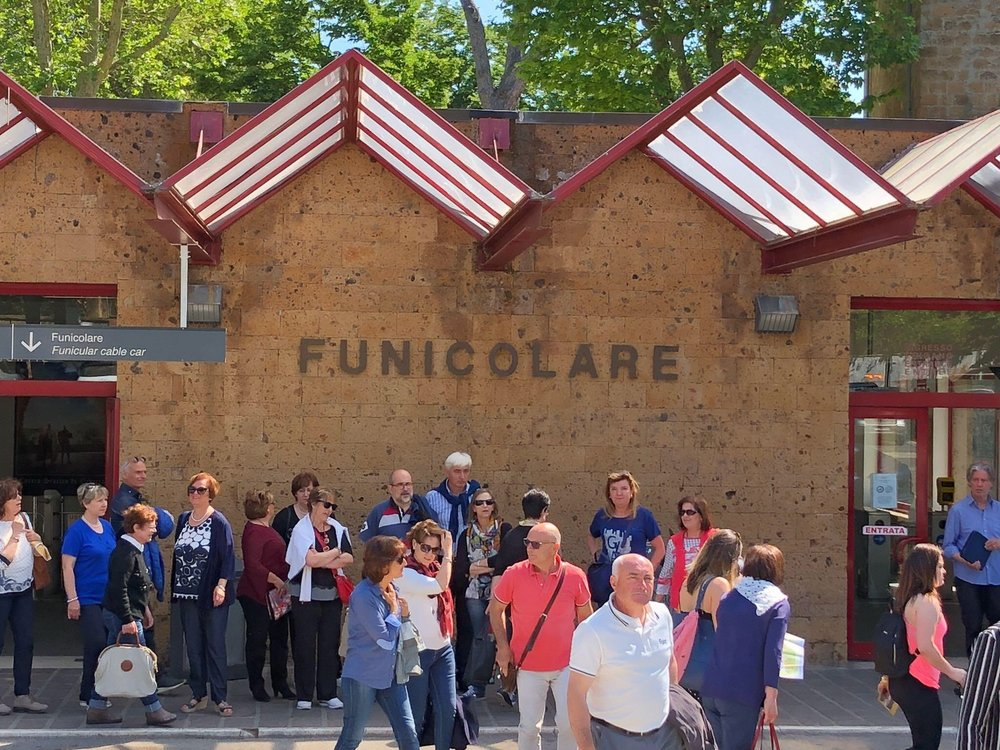 The Funicolare Station