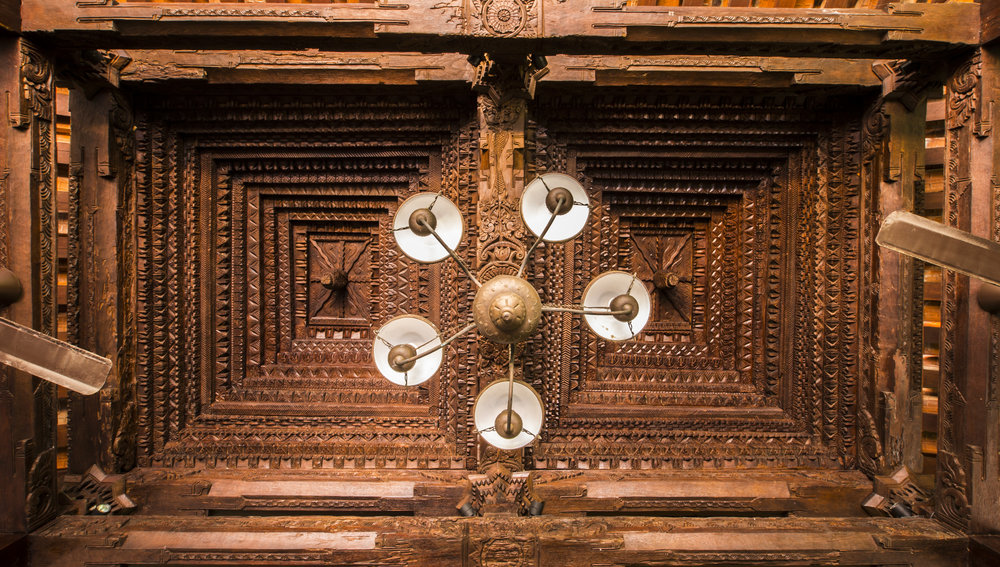 Javanese traditional wood carving